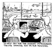 Air traffic control cartoon