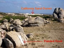SM Dunes and Painted Rock