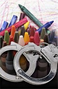Crayons_handcuffs