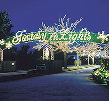 Top 10 places to see christmas lights for Best christmas travel destinations united states